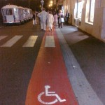 Wheelchair Lane in Lourdes