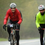 A picture of Tim and Andy riding the Kentish Killer 2011